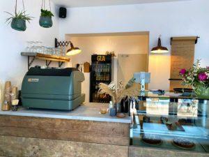 Theke des George Café Mainz