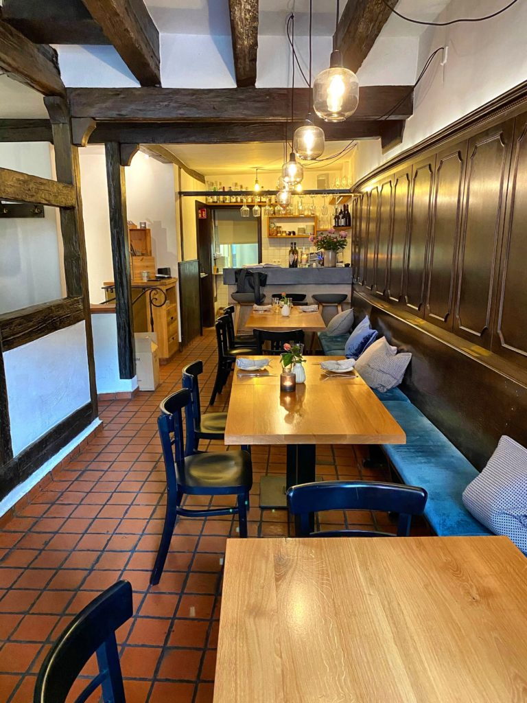 Essen in Mainz im das Gasthaus Willems