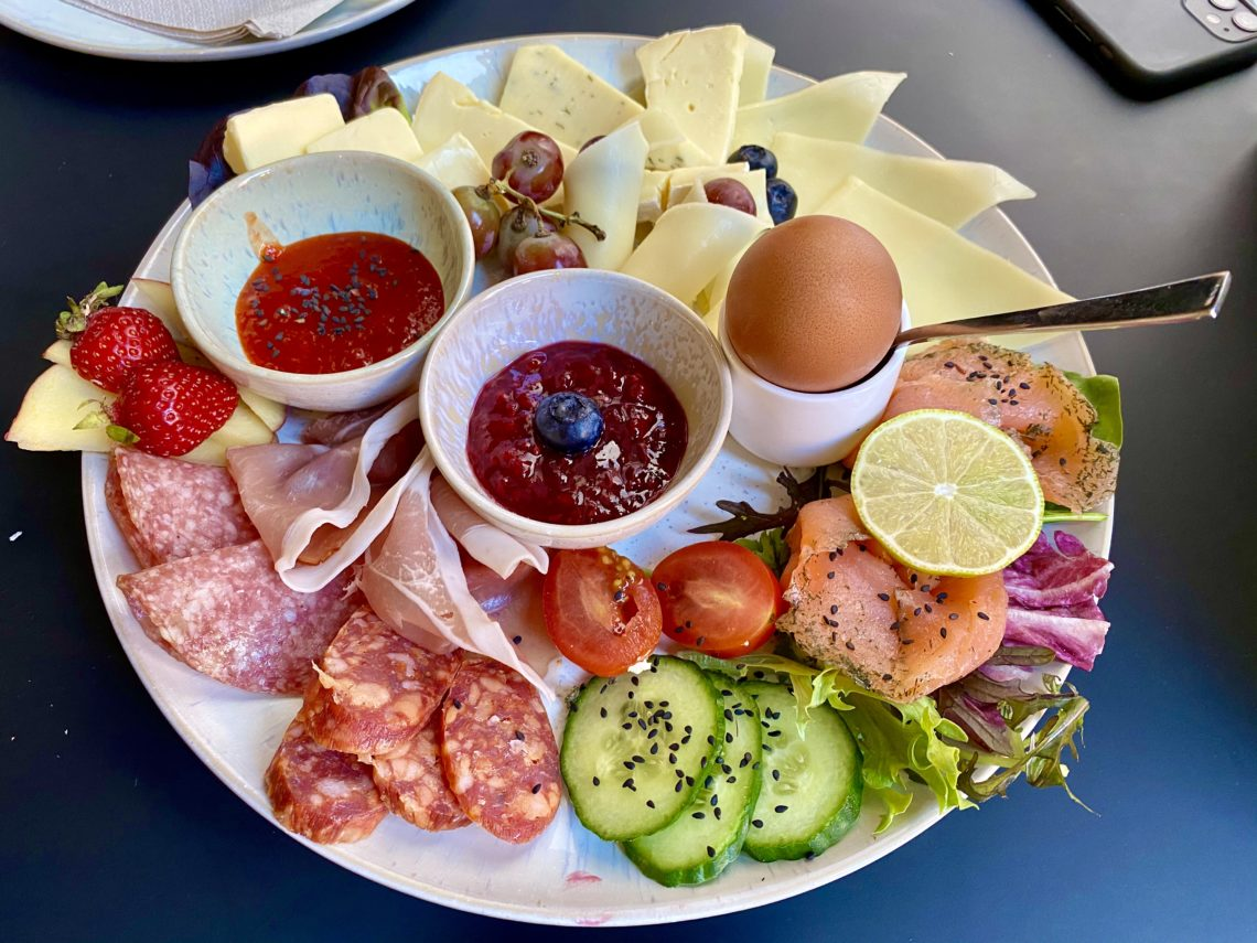 Frühstücksvariation im Nest