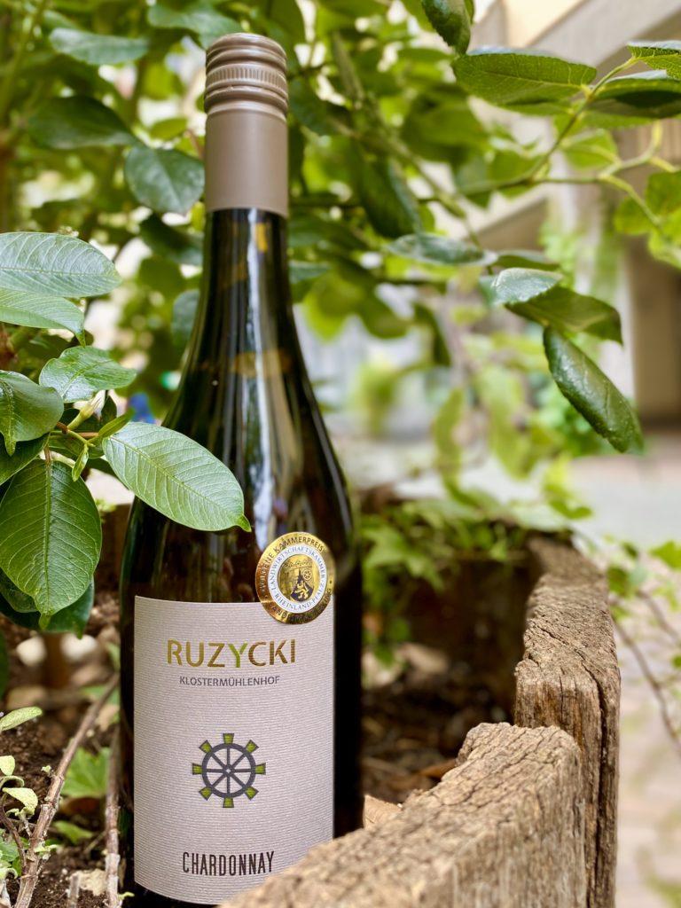Chardonnay vom Weingut Klostermühlenhof