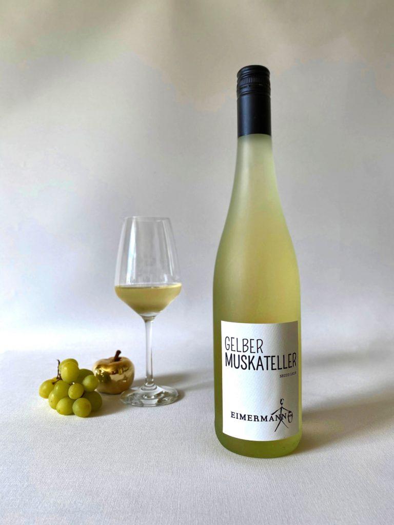 Gelber Muskateller Secco von Weingut Eimermann