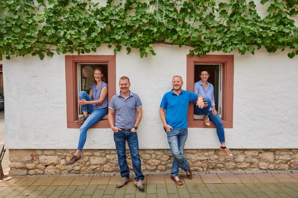 Winzerfamilie Ruzycki vom Klostermühlenhof