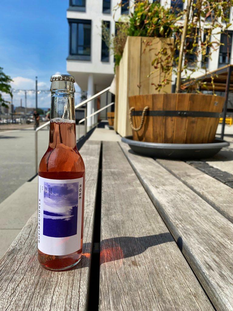 Bio-Rosé-Schorle aus Mainz