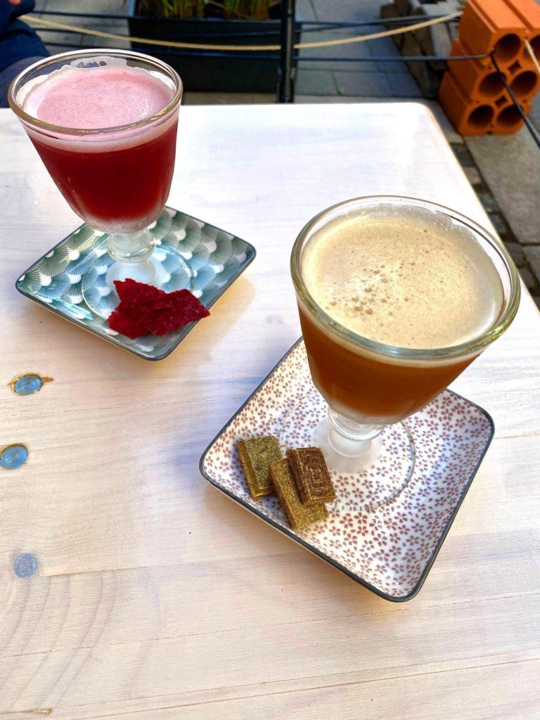 Drinks aus dem Spiritus Bar Kiosk