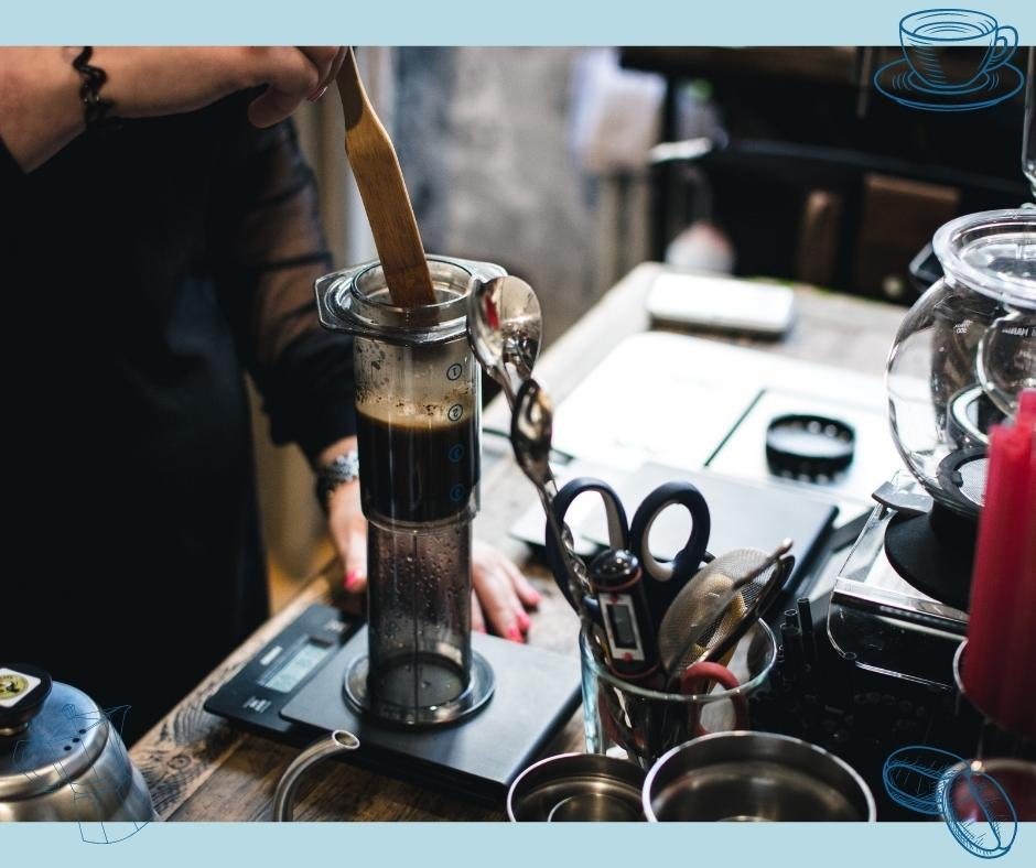 AeroPress Kaffeezubereitung
