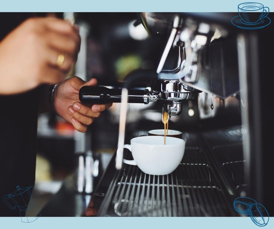 Espressomaschine Kaffeezubereitung