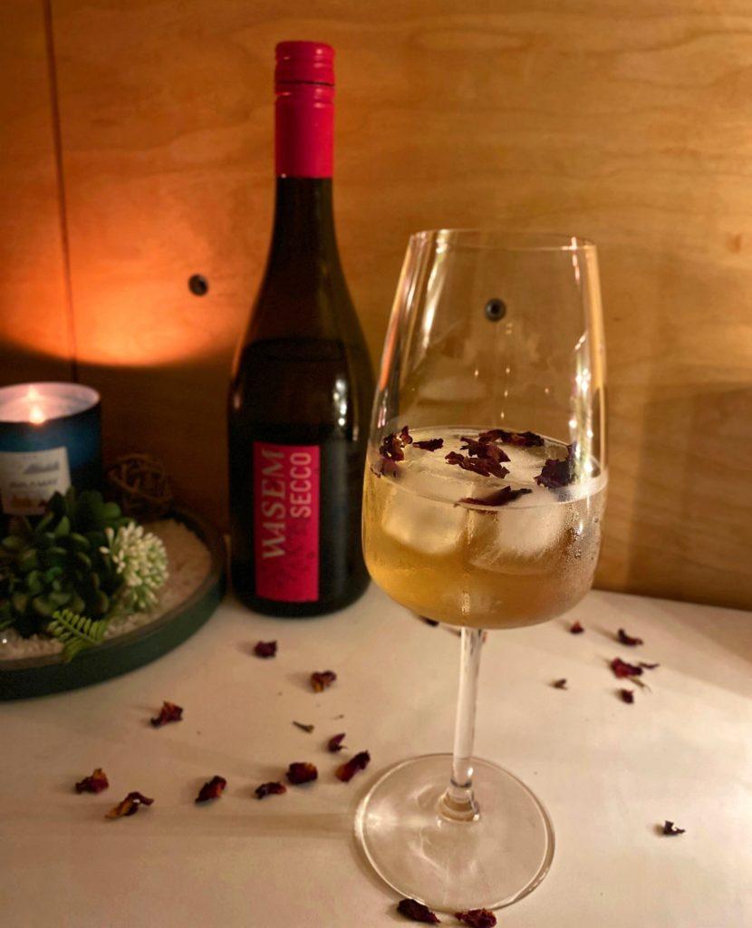 Gourmet Wein Cocktail mit Sekt