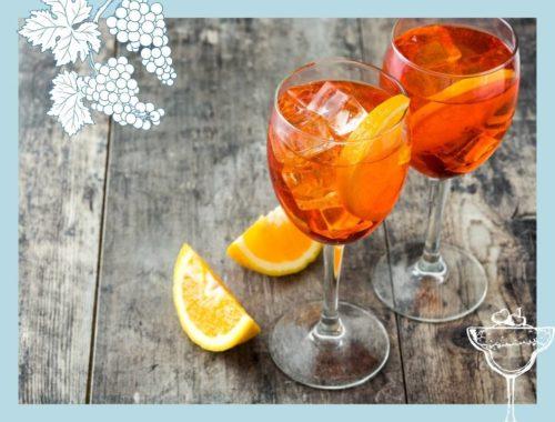Rezepte für Wein Cocktails