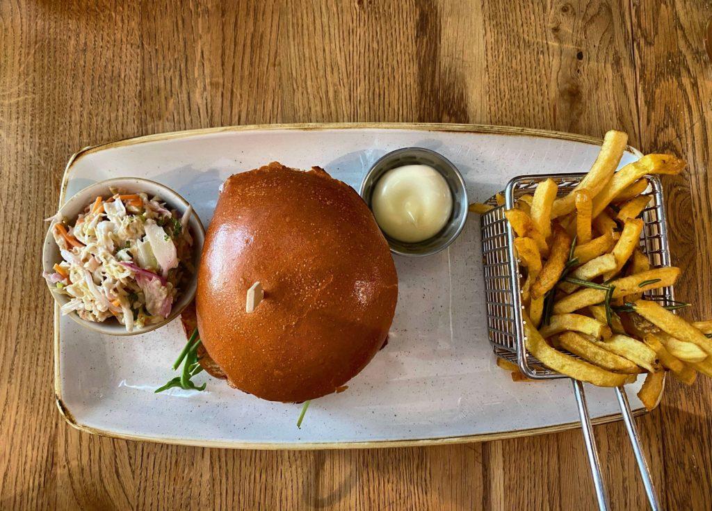 Burger essen in Wiesbaden