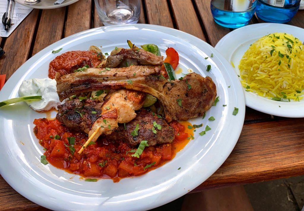 Essen in Wiesbaden bei Karims