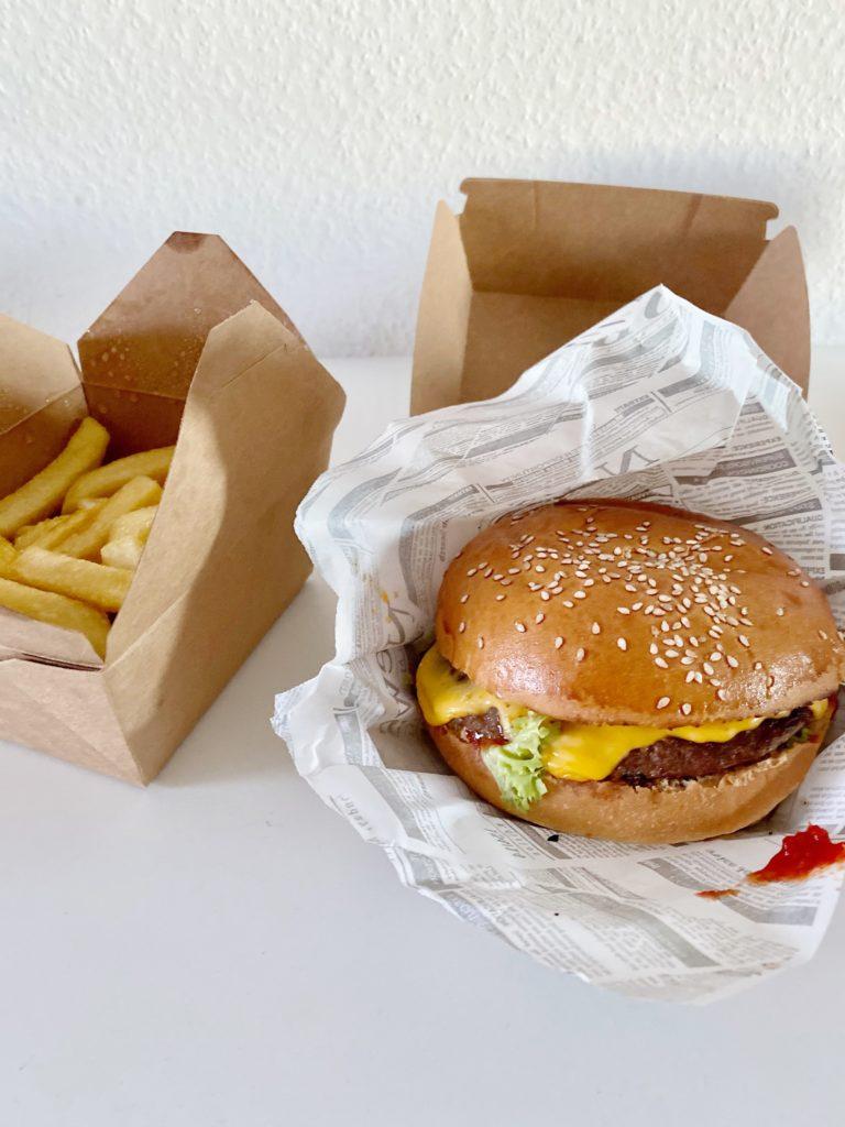 Chiliburger bei Burgeria Mainz