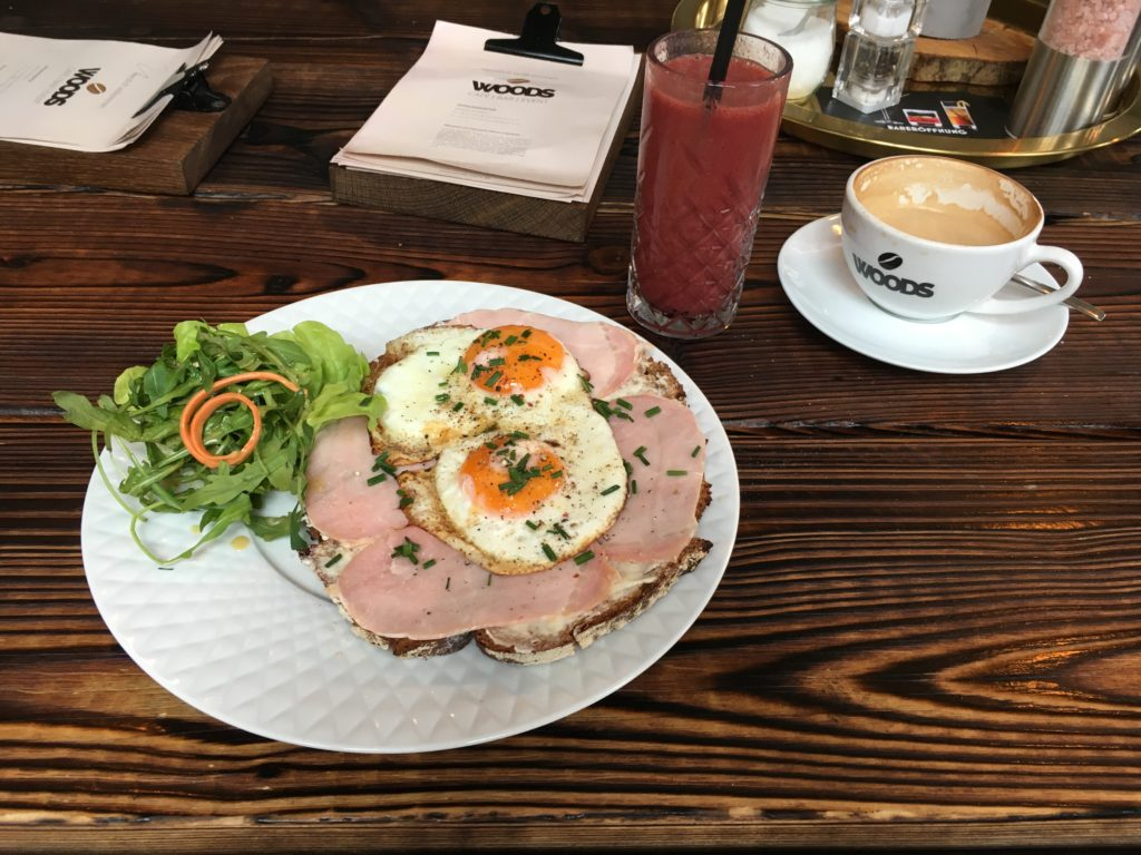 Woods Frühstück