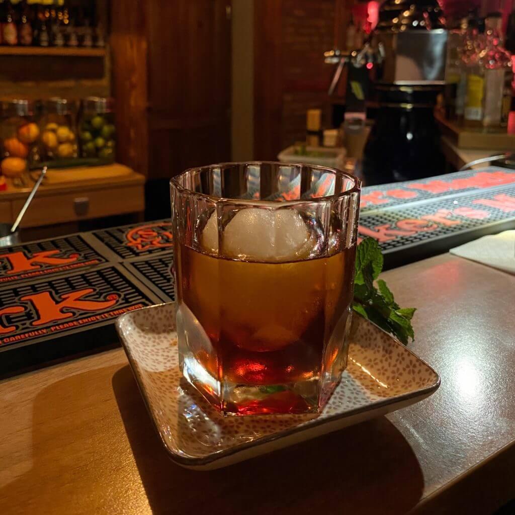 Cocktail im Spiritus Mainz