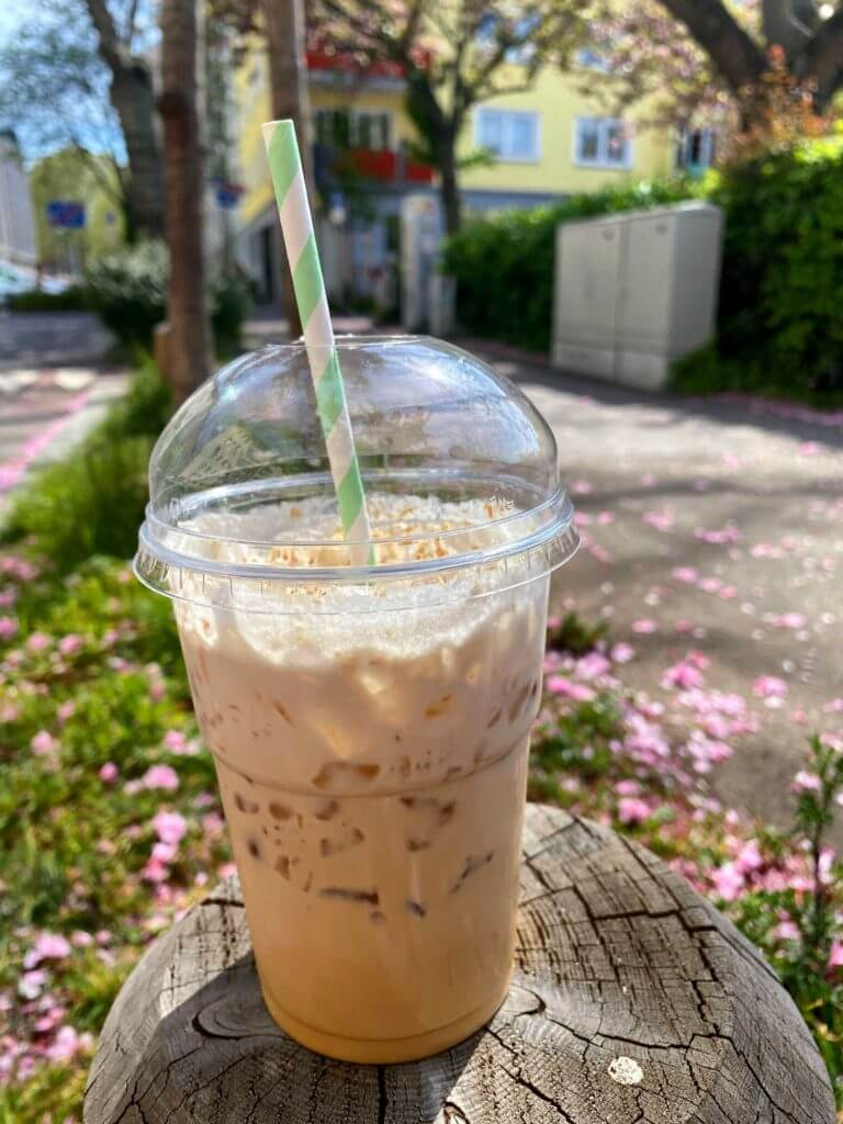 Kokosnuss Kaffee im An o ban Mainz